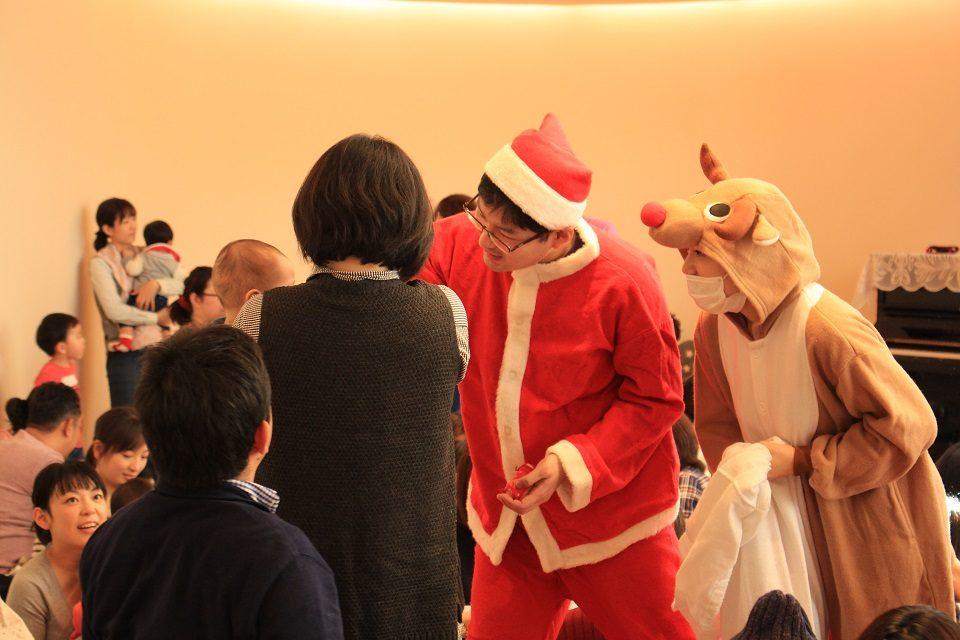 サンタ登場!
